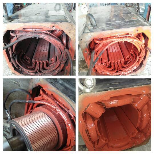 motor Trolley 100kw dc