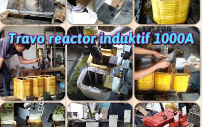 Rewinding Travo Reactor Induktif