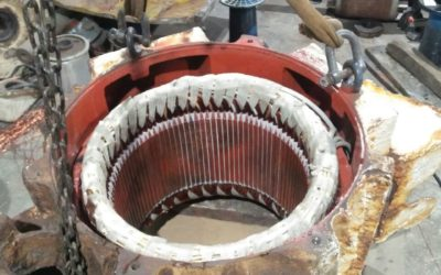 Rewinding Motor Jangkar