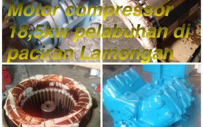 Rewinding Motor Compressor 18,5 kw