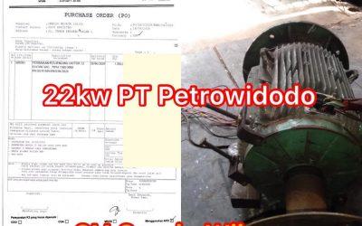 Rewinding Motor 22kw PT Petrowidada