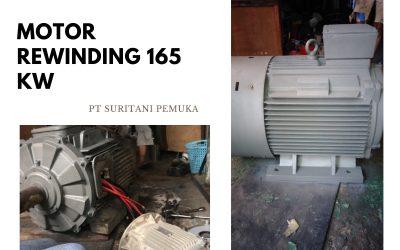 REWINDING MOTOR 165 KW PT SURITANI PEMUKA (JAPFA)